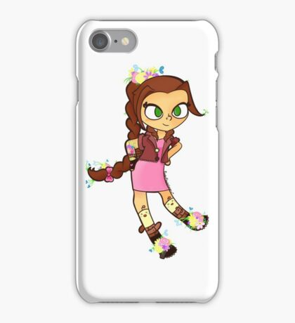 Aerith the Flower Girl iPhone Case/Skin