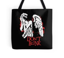 Doctor Who Don't Blink Tote Bag