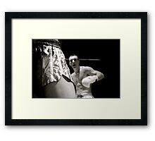 The Fight Framed Print