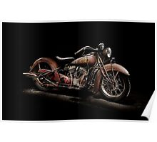 1939 Indian Chief Poster