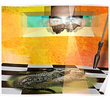 VIEW OF CROC Poster