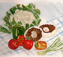 fruit and veg by GEORGE SANDERSON