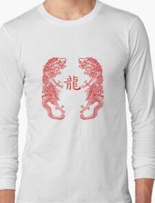 Double Dragan Kanji Tee Long Sleeve T-Shirt