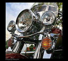 """Harley-Davidson Road King"" by Don Bailey"