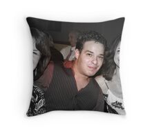 He's a ladies Man.. Throw Pillow