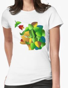 The Florist Womens Fitted T-Shirt