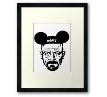 Walter Mouse | Breaking Bad Parody Framed Print
