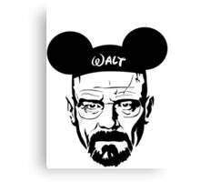 Walter Mouse | Breaking Bad Parody Canvas Print