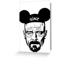 Walter Mouse | Breaking Bad Parody Greeting Card