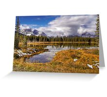 Vermilion Lake and Forest Greeting Card