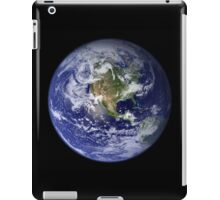 the earth seen from space iPad Case/Skin