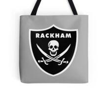 Jack Rackham - Silver and Black Tote Bag