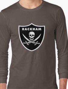 Jack Rackham - Silver and Black Long Sleeve T-Shirt