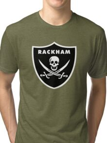 Jack Rackham - Silver and Black Tri-blend T-Shirt