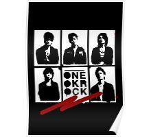 One OK Rock Stencil Poster