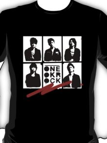One OK Rock Stencil T-Shirt