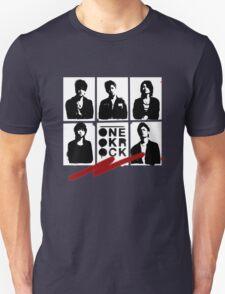 One OK Rock Stencil T-Shirt