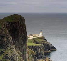 Neist Point Lighthouse by Maria Gaellman