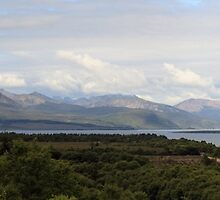 Cuillin Mountain range - Panorama by Maria Gaellman
