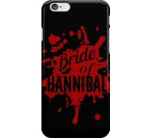 bride of hannibal iPhone Case/Skin