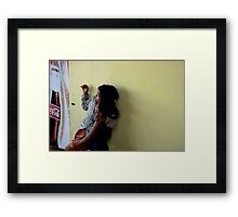 dreaming for our life Framed Print