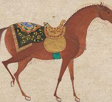 Antik Horsepainting by Katharina Jakob