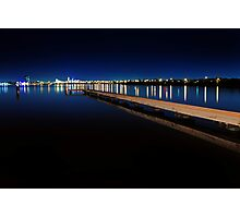 Jetty At Dusk  Photographic Print
