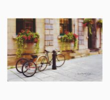 Tandem Bicycle and Flowers 2 Kids Clothes