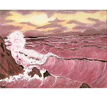 Sunset Seas Photographic Print