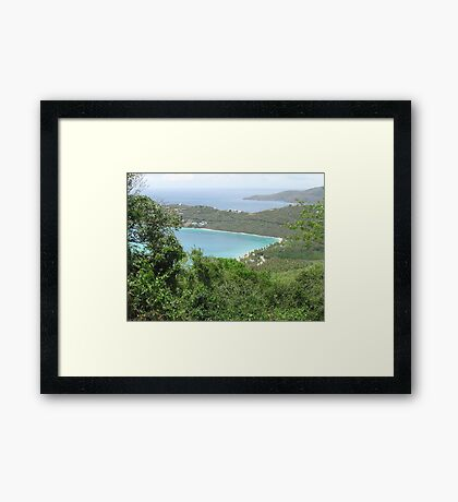 Carribean Sea Framed Print