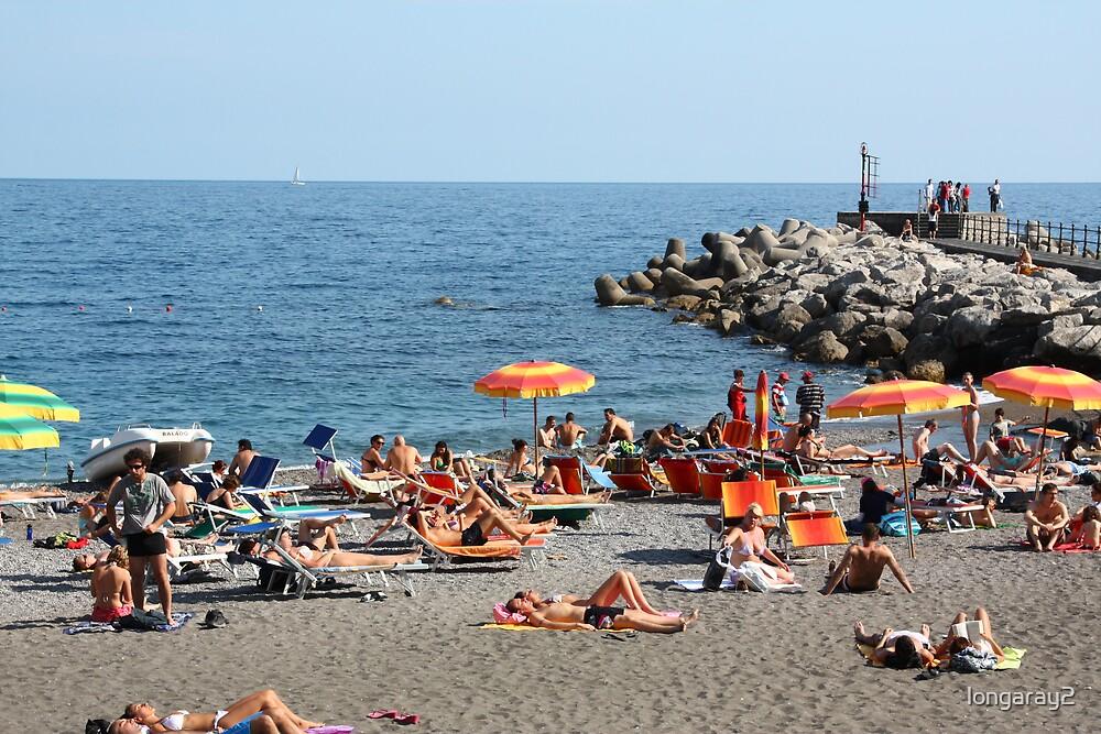 Amalfi Beach by longaray2