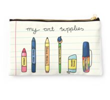 My Art Supplies Studio Pouch