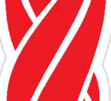 Red Marker Sticker