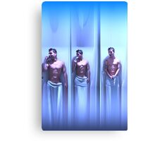 Guy in the shower Canvas Print
