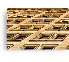 Divergent Views - New York City Architectural Abstract Canvas Print