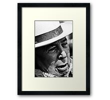 Chatting about Cricket Framed Print