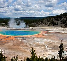 Grand Prismatic Spring, Yellowstone by A.M. Ruttle