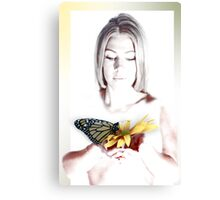 Loving Butterfly Canvas Print