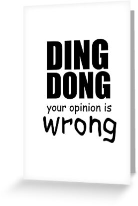 Opinion Paper, wrong opinion!?