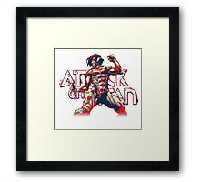 Attack On Titan Framed Print