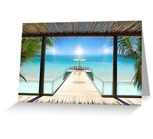 Postcard from the Maldives - Very rare Sunrise Greeting Card
