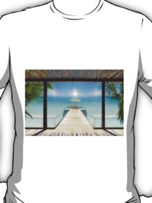 Postcard from the Maldives - Very rare Sunrise T-Shirt