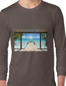 Postcard from the Maldives - Very rare Sunrise Long Sleeve T-Shirt
