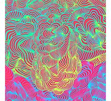 Flowism Psychedelic Photographic Print