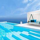 Santorini, Greece by Bruno Beach