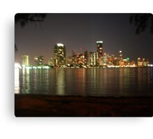 Miami Nights Canvas Print