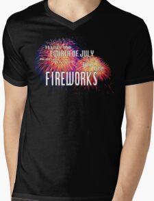 The Fourth of July Mens V-Neck T-Shirt