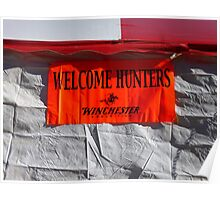 Welcome Hunters Poster