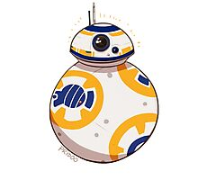 BB-8 on roll Photographic Print