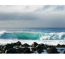 Surfs up. Photographic Print